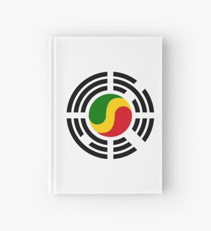 Korean Congolese Multinational Patriot Flag Series Hardcover Journal