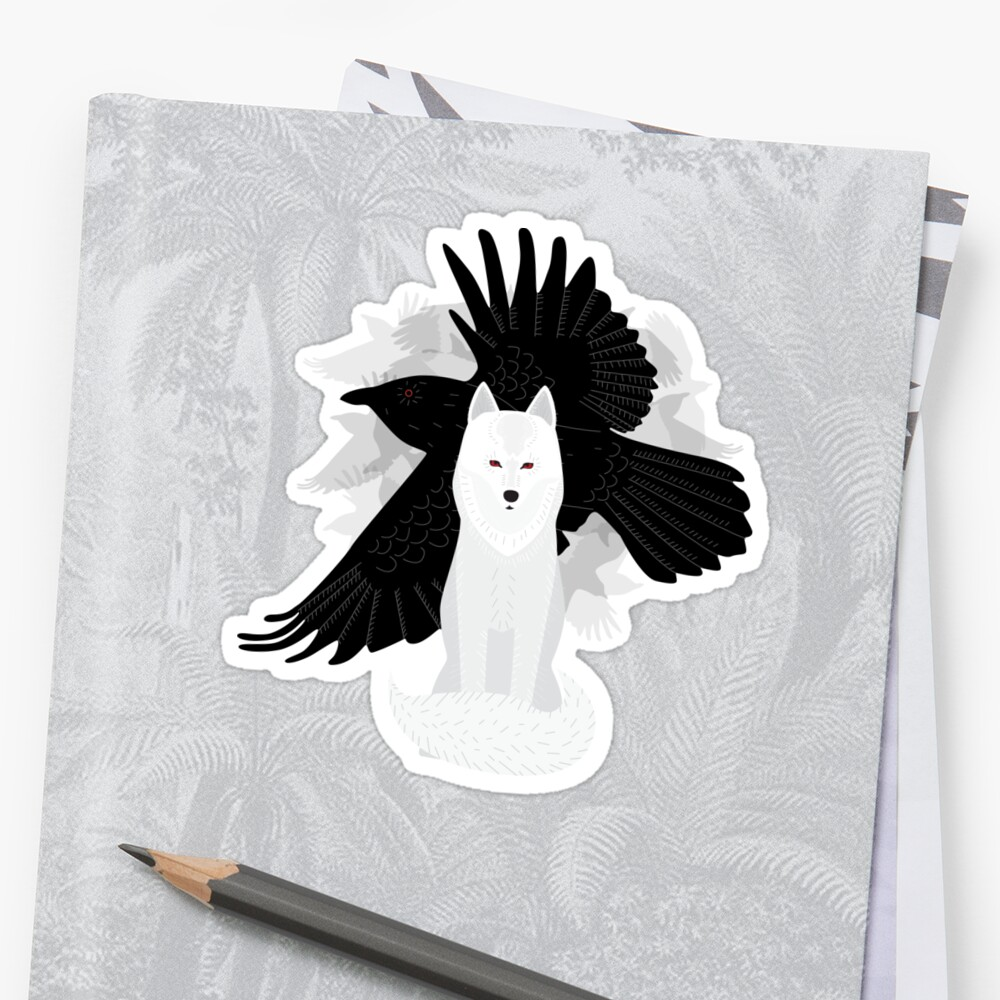 Ghost the Crow by katinatree