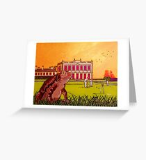 Toad of Brodsworth Hall Greeting Card