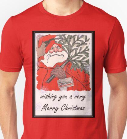 Wishing You A Very Merry Christmas Greeting  T-Shirt