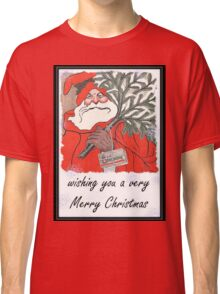 Wishing You A Very Merry Christmas Greeting  Classic T-Shirt