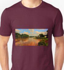 Assiniboine River...HDR Unisex T-Shirt