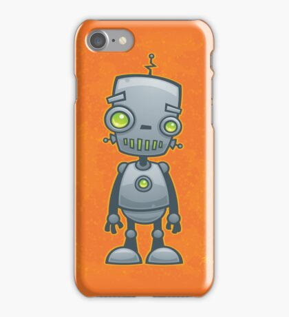 Silly Robot iPhone Case/Skin