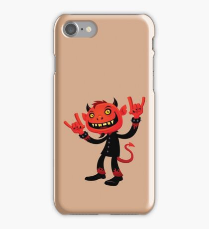 Heavy Metal Devil iPhone Case/Skin