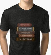 Libraries were full of ideas... Tri-blend T-Shirt