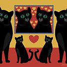CATS AND FAMILY PICTURES by Jean Gregory  Evans