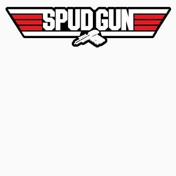 Top Gun Spud Gun (alt) by maclac