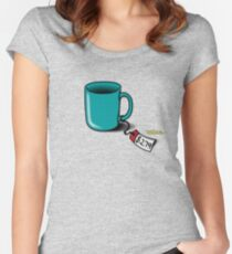 Flight of the Conchords: Cup! Women's Fitted Scoop T-Shirt