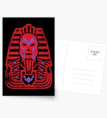 Pharaoh of Magnets Postcards