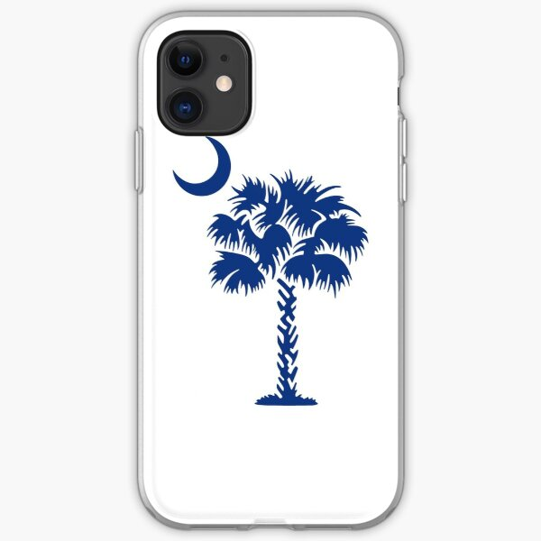 South Carolina Palm iPhone Soft Case