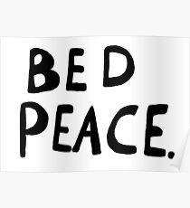 Bed Peace Poster