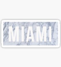 Marble Miami Sticker