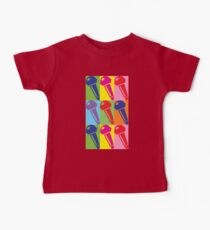 Pop Art Microphone Kids Clothes