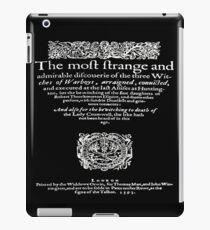 THREE WITCHES iPad Case/Skin