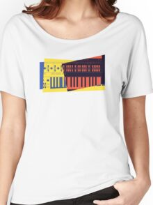 Pop Art Synth 101 Women's Relaxed Fit T-Shirt