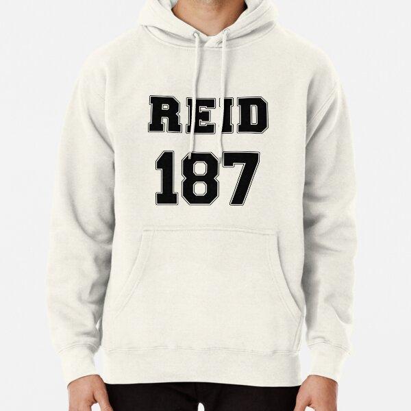 Reid Jersey Design #187 Pullover Hoodie