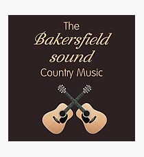 Bakersfield Sound Country Music Photographic Print