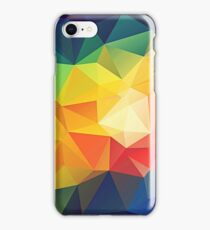 Colorful Low-poly  iPhone Case/Skin