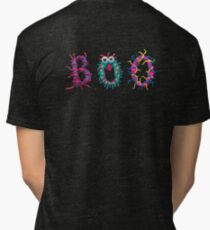 Colorful text Boo Tri-blend T-Shirt