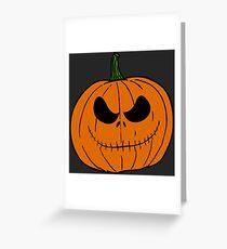 Pumpkin Jack Greeting Card