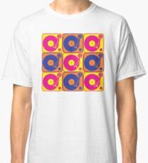 Vinyl Record Turntable Pop Art 3 Classic T-Shirt