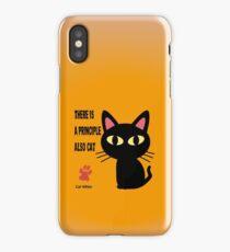 CAT PRINCIPLE iPhone Case/Skin