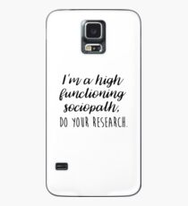 Sherlock - I'm a high functioning sociopath Case/Skin for Samsung Galaxy