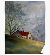 Old Folks' Home, Atlanta Road, Marietta, GA Poster