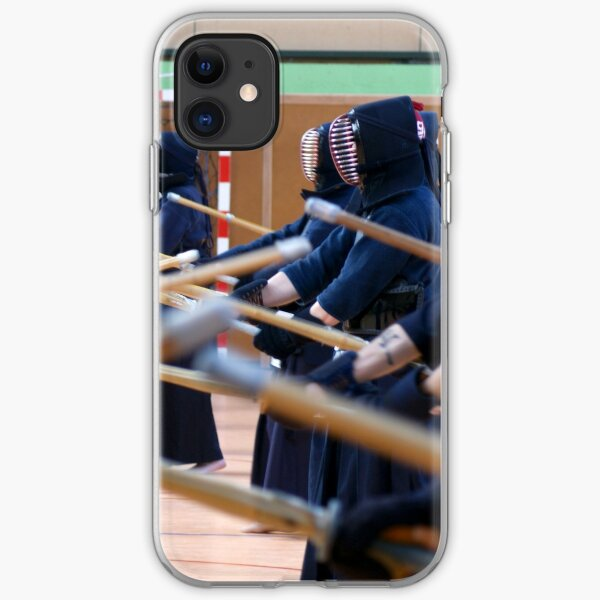 Kendo, Kamae en stage Coque souple iPhone