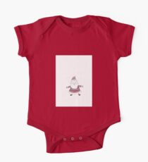 Knitted Santa One Piece - Short Sleeve