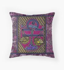 The Libra Throw Pillow