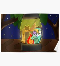 Firefly Lantern Poster