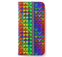 Radically Radioactive Hipster Symbol iPhone Wallet/Case/Skin