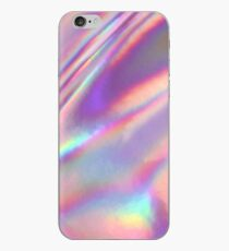 Holographic Sea in pink iPhone Case