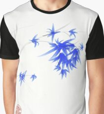 """""""Soft Flowers"""" Sumie watercolor painting   Graphic T-Shirt"""