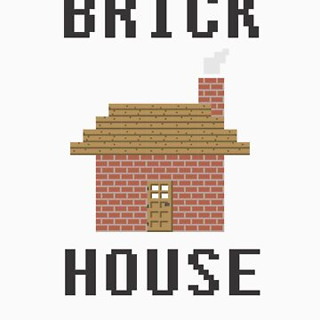 Minecraft - Brick House by toasterpip