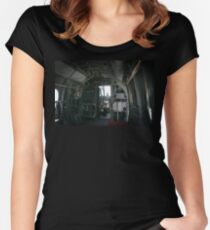 Old Helicopter Women's Fitted Scoop T-Shirt