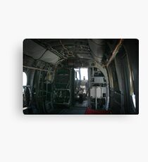 Old Helicopter Canvas Print