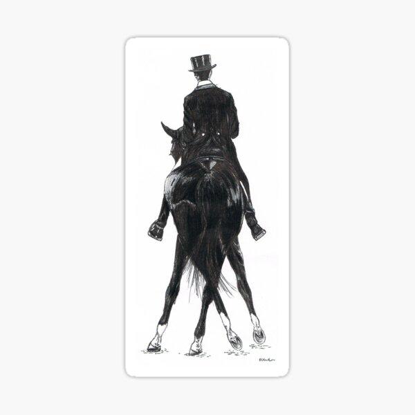 The Dance - Dressage Horse Sticker