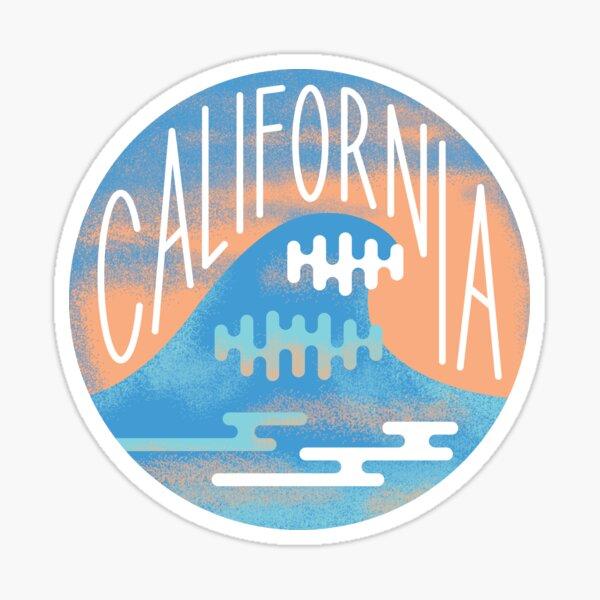 California Wave Sticker