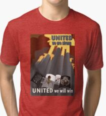 EVE Online WWII Propaganda  Tri-blend T-Shirt