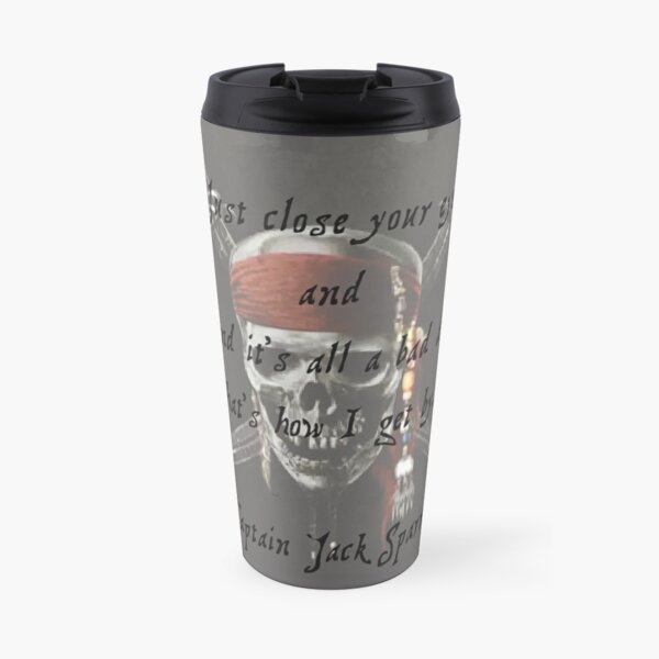 Jack Sparrow Quote Travel Mug