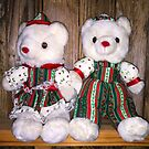 Mom & Pop Christmas Bears by WildestArt