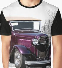 1932 Ford 'Rumble Seat Ragtop' Roadster Graphic T-Shirt
