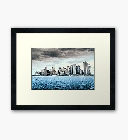 South Manhattan Framed Print
