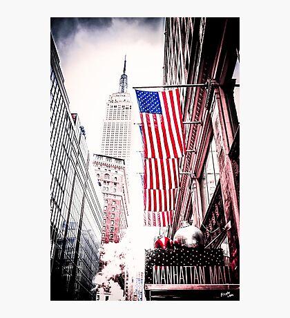 Manhattan Symbols Photographic Print