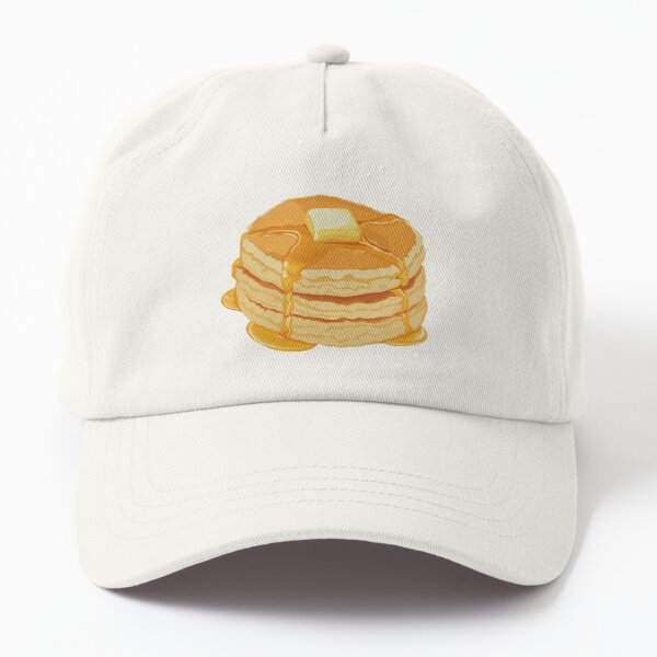 Stack of Pancakes with Butter Dad Hat