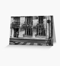 Rue Saint-Louis Greeting Card