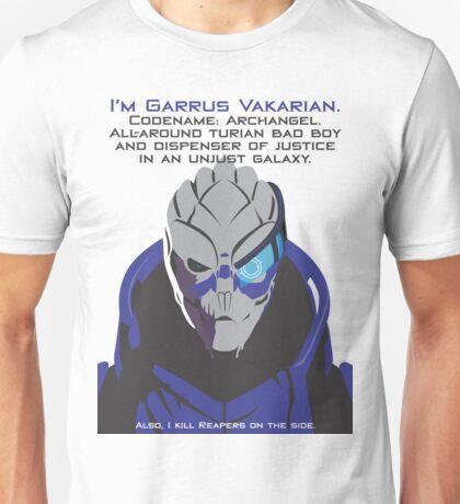 Mass Effect - Garrus Vakarian Unisex T-Shirt