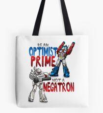 Optomist Prime - Negatron Tote Bag